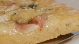 Pizza pâte briochée