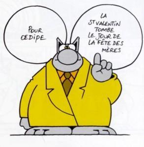 Oedipe vu par le Chat de Philippe Geluck