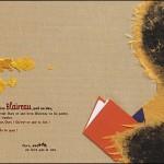 Lectures pour Miniatures (2) « Ours qui lit »