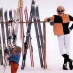 Les papas font du ski