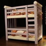 Papa Blogueur et Papa Bricoleur : Le lit de poupées