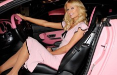 Paris Hilton pink-bentley