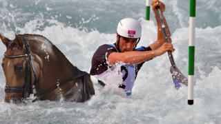 Kayak Cheval Tony Estanguet