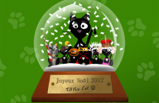 Boule Noël Till the Cat