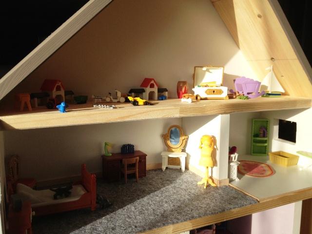 Chambre des parents maison moderne playmobil for Chambre des parents moderne