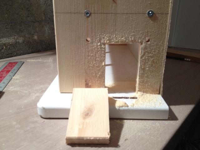 Comment faire une petite maison en bois ju0027ai commenc - Fabriquer une petite maison en bois ...