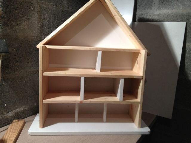 Papa blogueur et papa bricoleur la maison playmobil for Maison miniature en bois