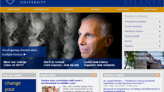 Page accueil Université Atlanta