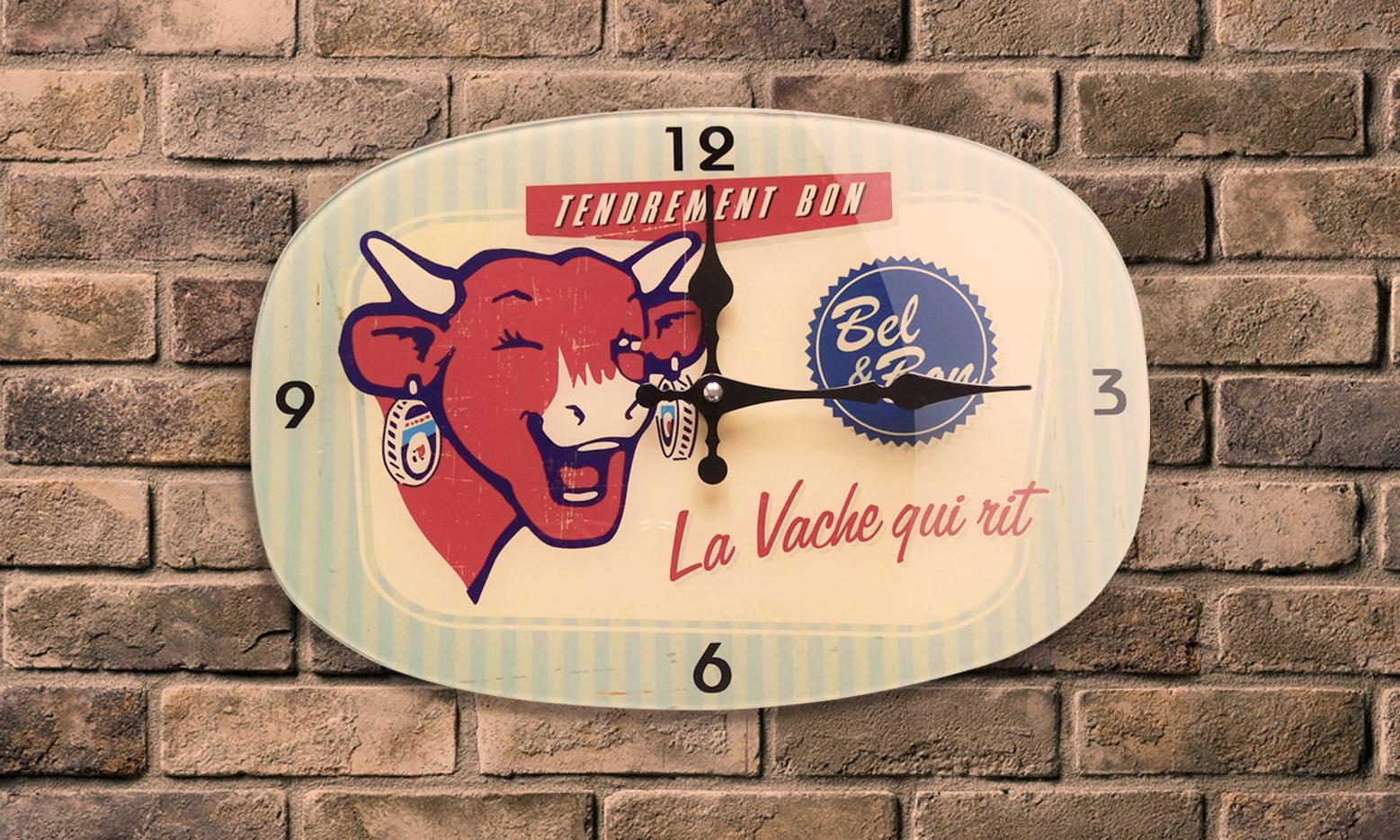 Horloge vintage Vache qui Rit