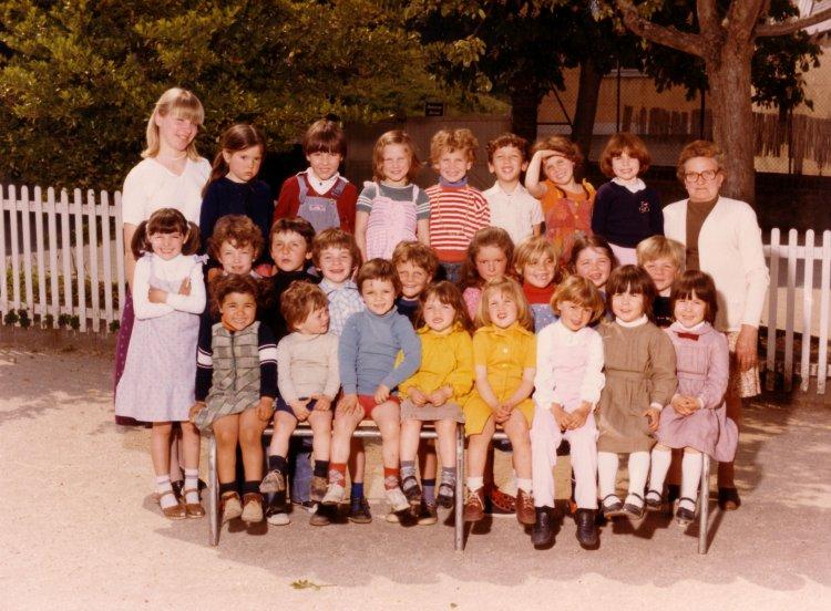photo de classe années 80
