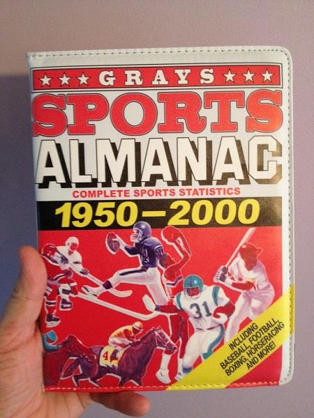 Almanach des Sports Retour vers le futur iPad