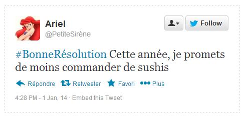 Tweet Résolution Ariel