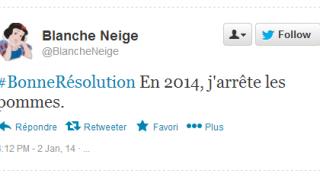 Tweet Résolution Blanche Neige