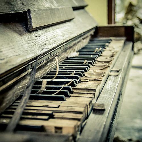 Vieux piano