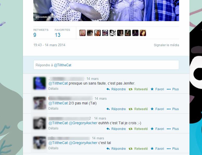 Réponses Pêche aux Tweets