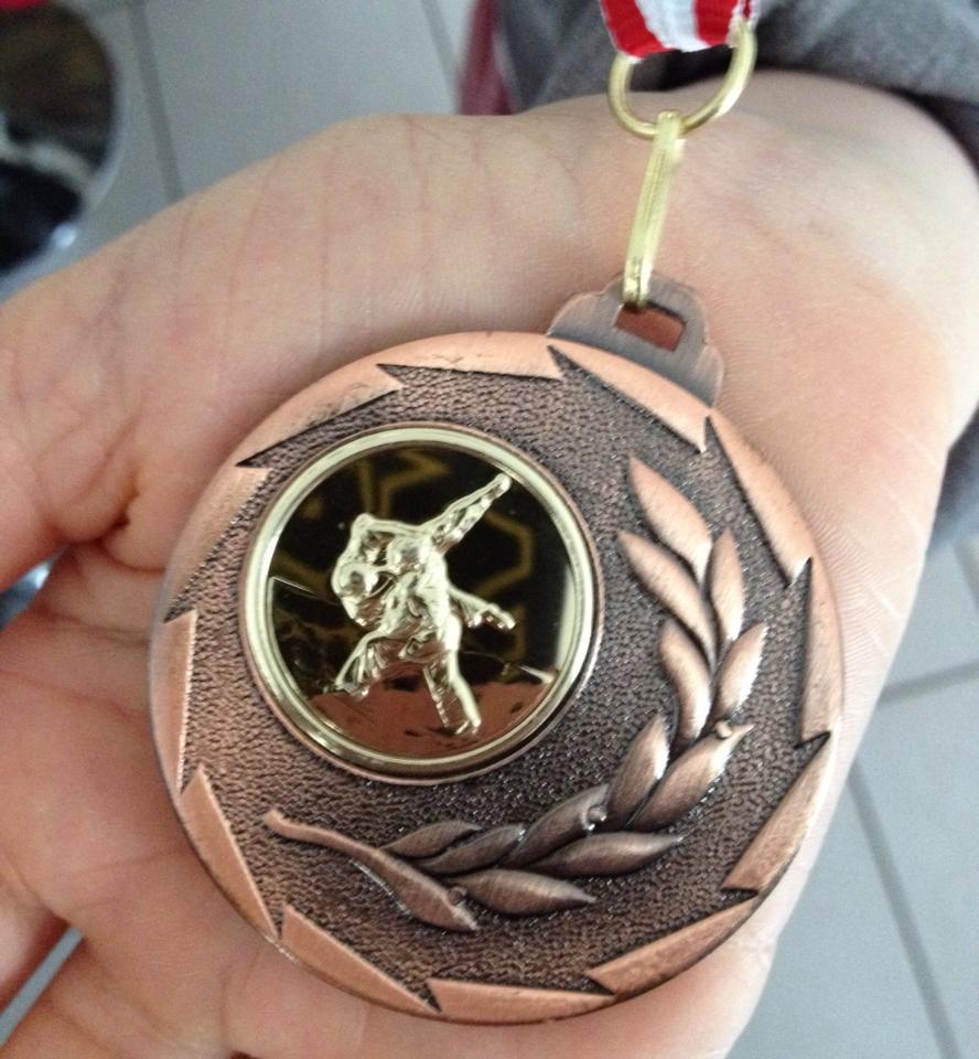 Miniature N°2 Judokate médaille