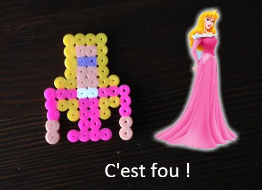Aurore Disney vs Perles Hama