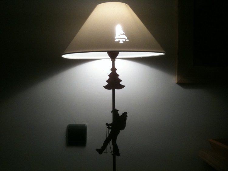 Lampe appartement CGH Cimes Blanches