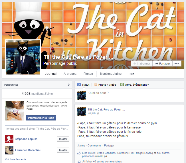 Page Facebook Till the Cat