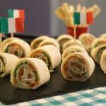 Recette : Petits roulés à l'Italienne pour l'apéro