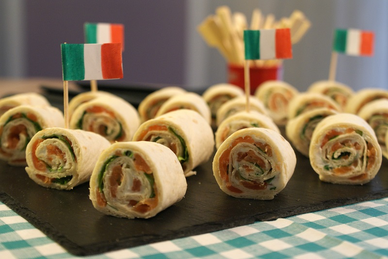 Relativ Recette : Petits roulés à l'Italienne pour l'apéro | YI03