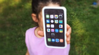 Iphone pour enfants photo une