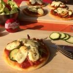 Recette : Pizzas Légumes du Soleil et Mini Babybel®