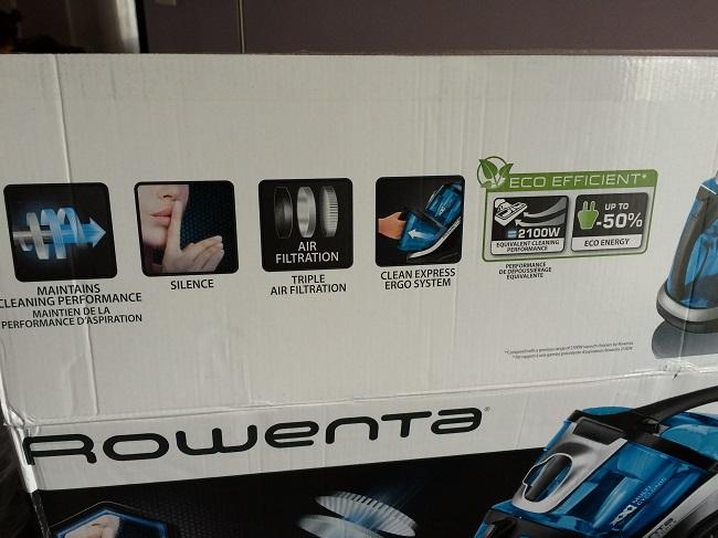 Rowenta silence force carton