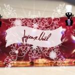 Recette - Bûche de Noël Chocolat Framboise Pralines