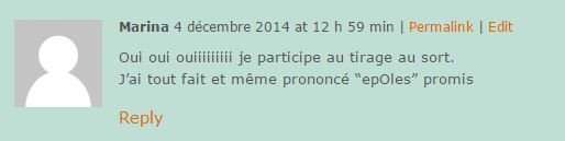 Commentaire N31 Marina