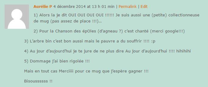 Commentaire N33 Aurélie