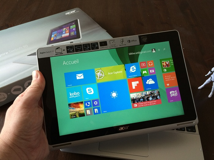 Acer Aspire Switch 10 test tablette