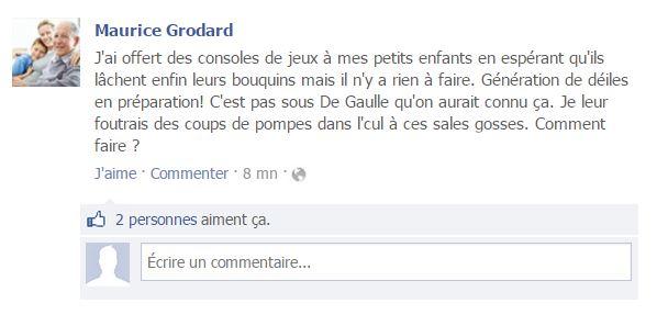 Facebook Maurice Grodard