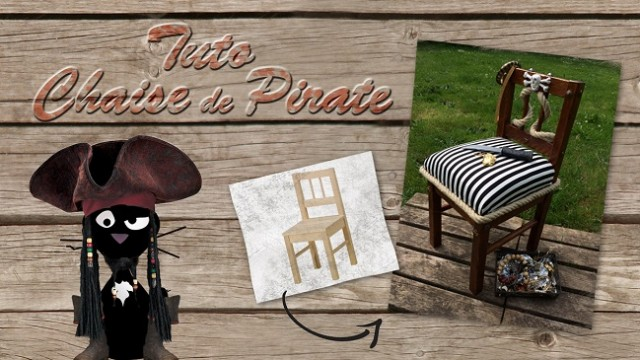 Tuto chaise de pirate TilltheCat