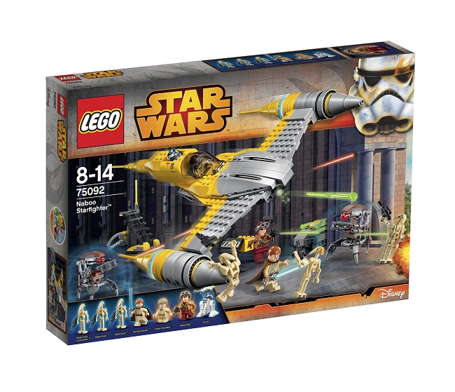 Naboo Starfighter Lego Star Wars