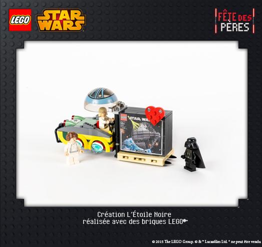 L'Etoile Noire Lego Star Wars Exposition Virtuelle Fête des pères
