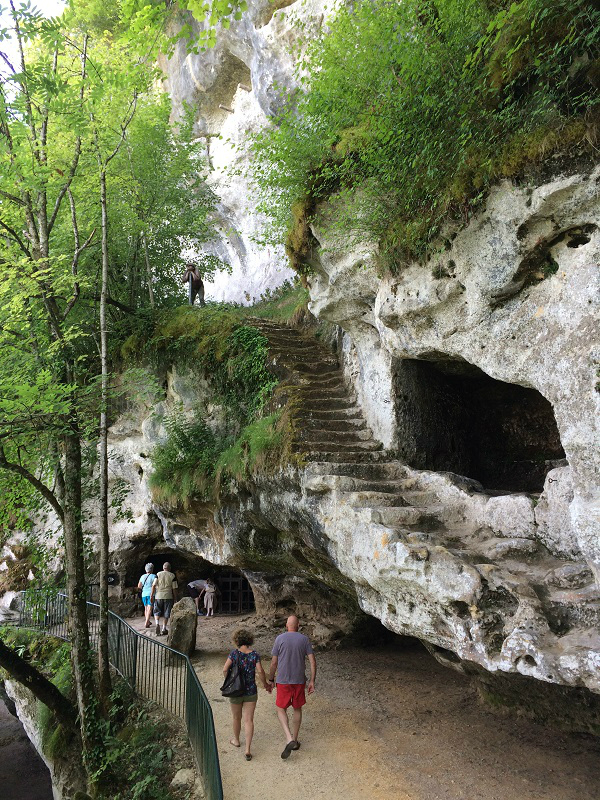 Roque Saint Christophe Escaliers