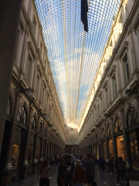 Bruxelles passage de la Reine
