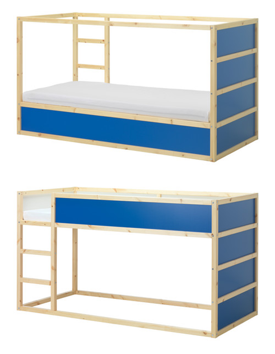 lit enfant ikea bleu. Black Bedroom Furniture Sets. Home Design Ideas