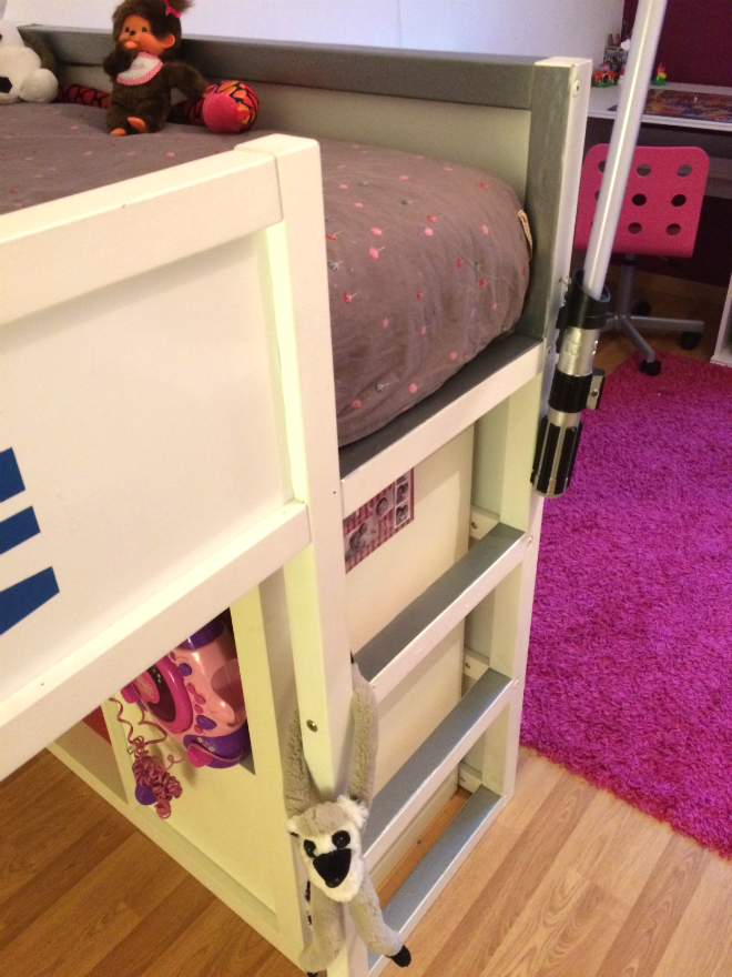 Tuto Lit Star Wars R2D2 Ikea Kura bed échelle