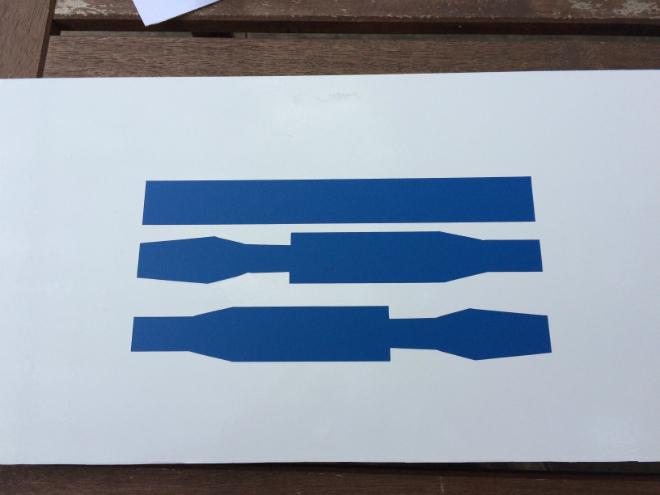 Tuto Lit Star Wars R2D2 Ikea Motifs bleus