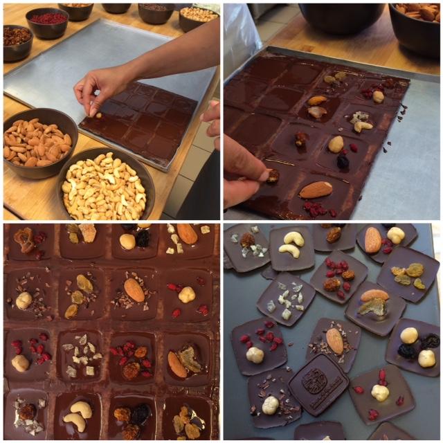 Bruxelles chocolatier Laurent Gerbaud Atelier chocolats