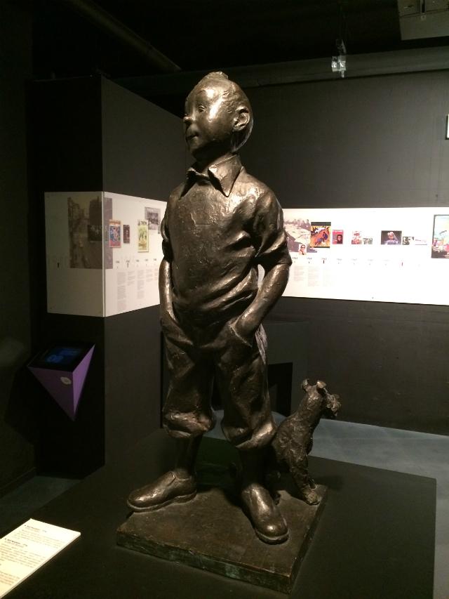 MOOF Bruxelles Tintin