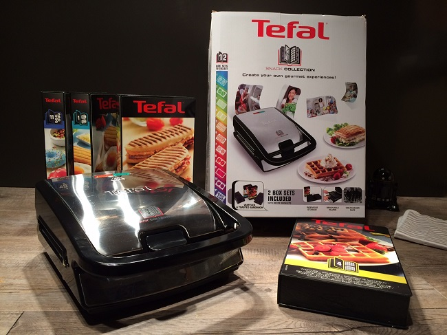 test du snack collection tefal recette de panini. Black Bedroom Furniture Sets. Home Design Ideas