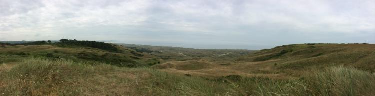 Biville Dunes Panorama