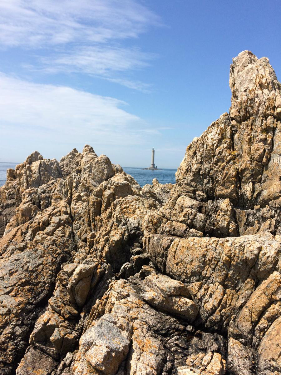 La Hague rochers
