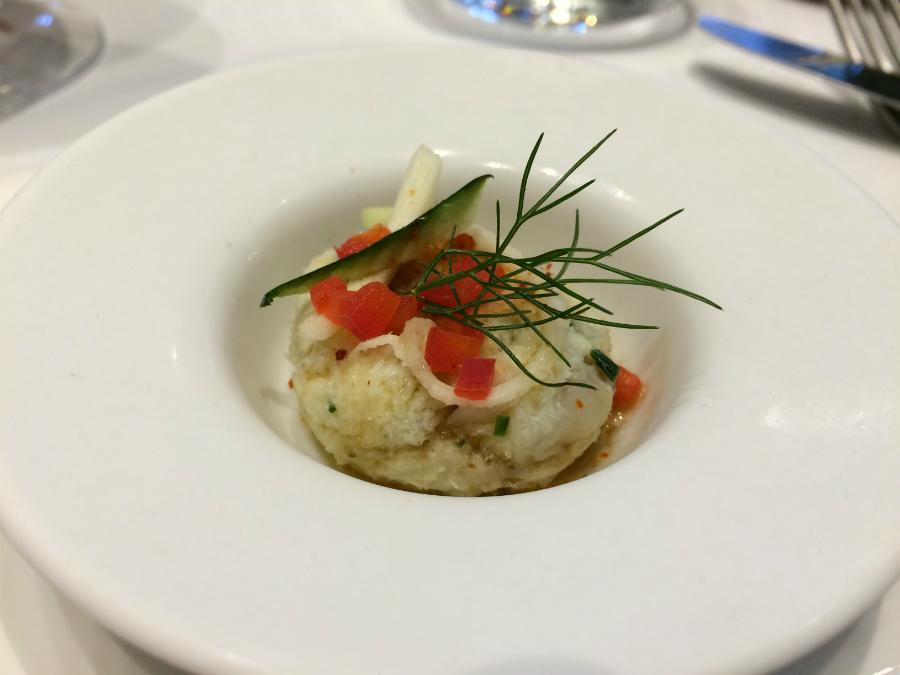 Les Pieux - Restaurant Le ptit bourg - Mise en bouche