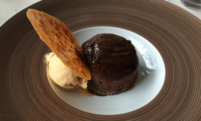 Omonville la rogue restaurant port dessert