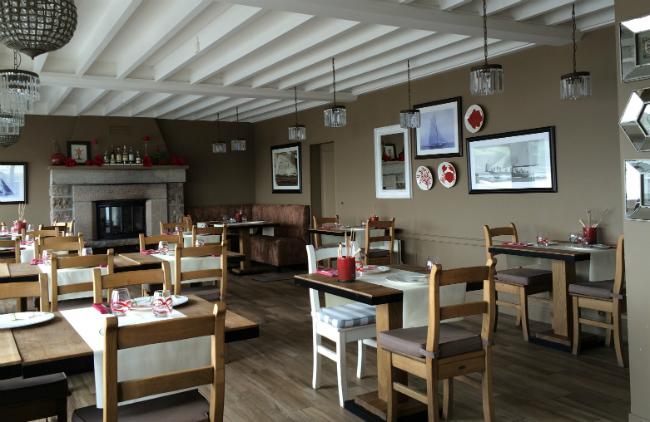 Omonville la rogue restaurant salle