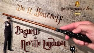 Tuto vidéo - Baguette Neville Londubat